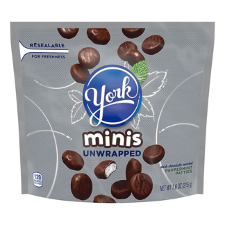 York Peppermint Minis 215G